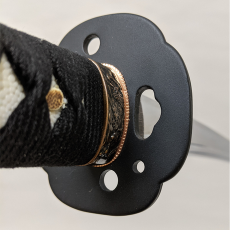 居合刀 Iaito  #713  黒綿巻 Black cotton