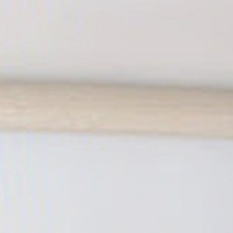 柄巻木刀(樋無し) 鍔付(白樫/剣峰蛤帽子/大刀)Tsukamaki  Bokuto (White oak) with Tsuba
