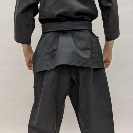 拳王印 空手着 セット(上・下) Karate-Gi SET(Jacket・Pants)黒太綾 Black Futoaya SIZE2