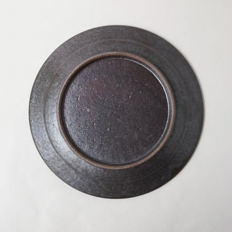 叶谷真一郎 8寸幅広リム皿