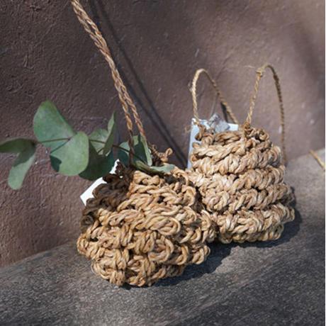 F/style シナの縄の花かご