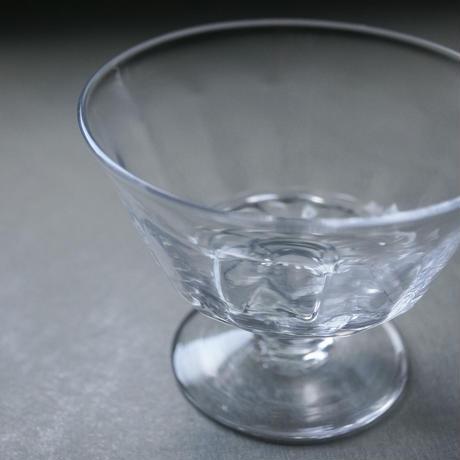 河上智美 12面足付きデザートグラス