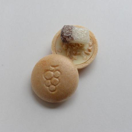 2月10~14日到着 バレンタイン期間限定 12個入 ホワイトチョコ豆たん