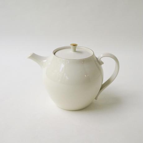 服部竜也 白金彩茶壺