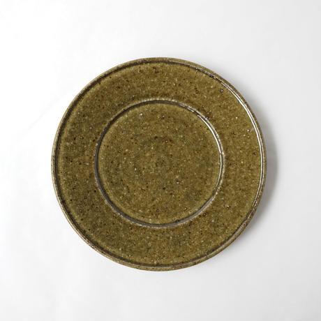 叶谷真一郎 6寸幅広リム皿