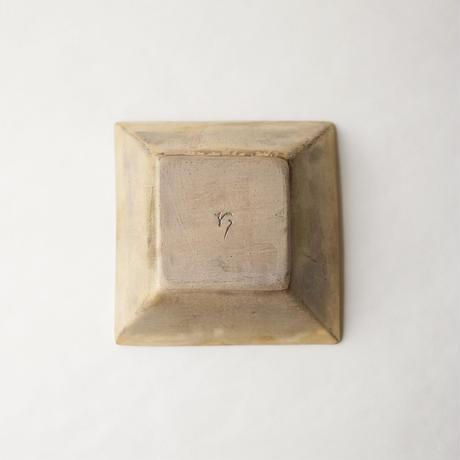 阿南 維也 鉄磁金彩角小鉢