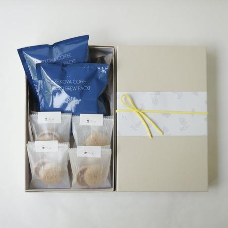 ※7月28日以降の発送となります。●クール便でのお届けとなります。  水出し アイスコーヒーと豆たんの贈り物