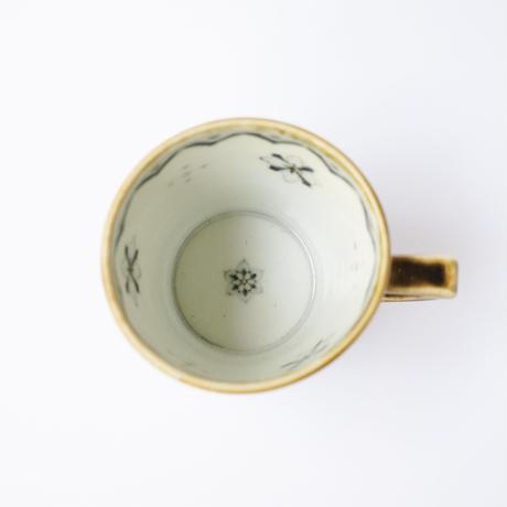 村山朋子 イスパニア紋×からしマグカップ