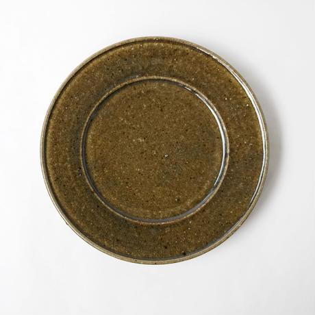 叶谷真一郎 7寸幅広リム皿