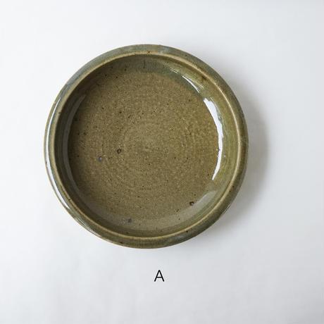 叶谷真一郎 7.5寸石皿