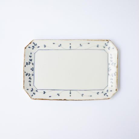 村山朋子 サビツタ長角皿