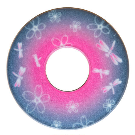 紋様鍔 とんぼさくら 桃色