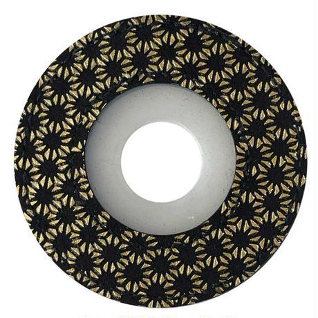 綺麗な印伝風紋様 印伝風ツバ止めゴム伝統柄