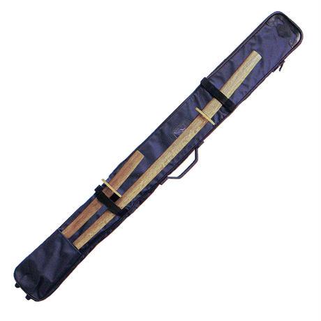 デラックスナイロン木刀入付チャック式3 本入り竹刀袋