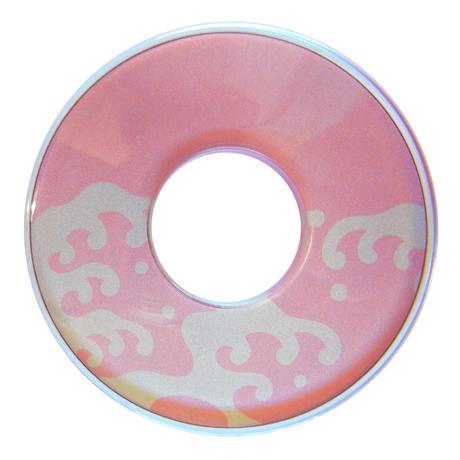 化粧ツバ 波頭 ピンク色