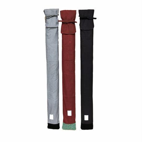 [特価]帆布竹刀袋3本入 無念無想明鏡止水