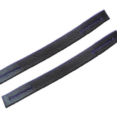 面乳革 上製クロザン(手縫)2本1組(MC-3)