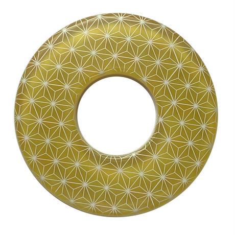 和柄鍔 麻の葉・黄色
