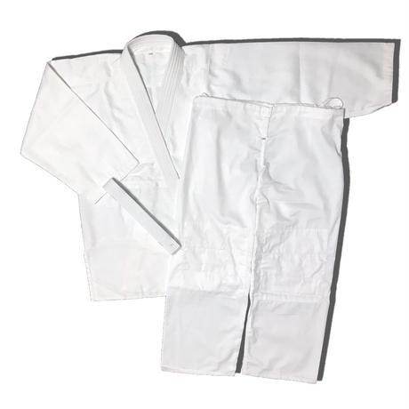 合気道衣 晒上下帯セット