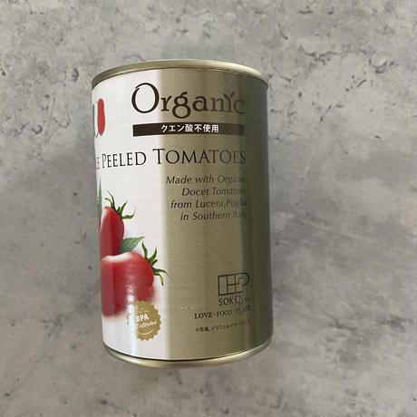 オーガニックトマト缶 ビスフェノールA不使用缶 クエン酸不使用