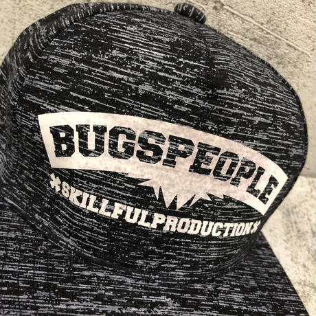 BugsPeople skillfulproduction スナップバックキャップ