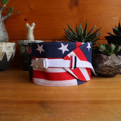 """NECK COOLER  USA  - vintage  bandana -  """" 8 """""""