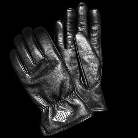BUILD CLOTHING × PEACE MAKER W-Name Leather Gloves (SAITOS)