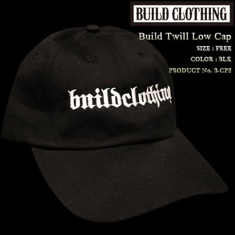 Build Twill Low Cap