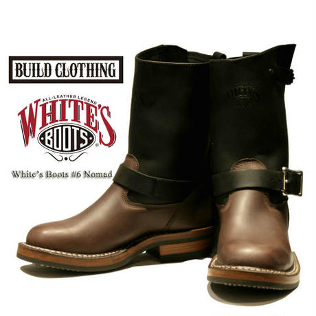 BUILD CLOTHING 別注 White's Boots #6 【Nomad】