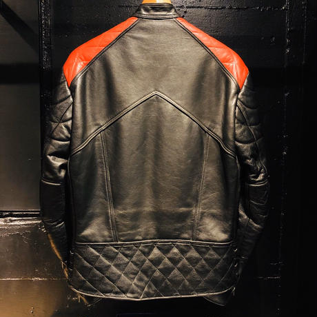 Interstate Leathers Monza type Semi-double Riders Jacket