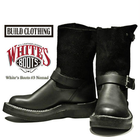BUILD CLOTHING 別注 White's Boots #3 【Nomad】
