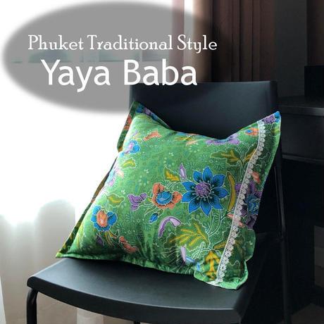 タイバティック布製 クッションカバー 【Yaya Baba】