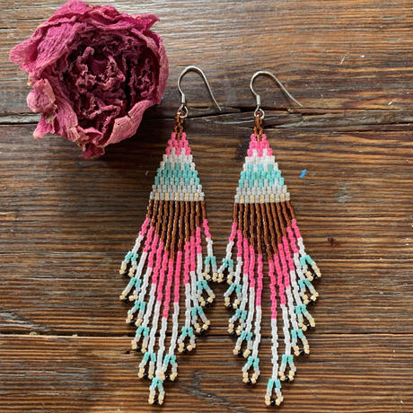 zigzag fringe pierce