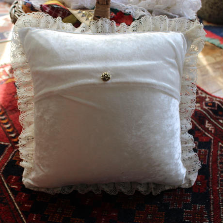vintage gobelin cushion