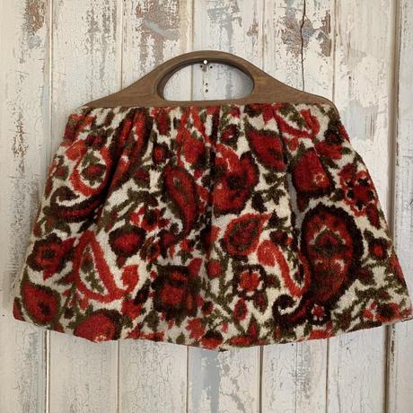 vintage red bag