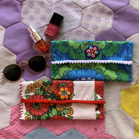 flower sunglasses case