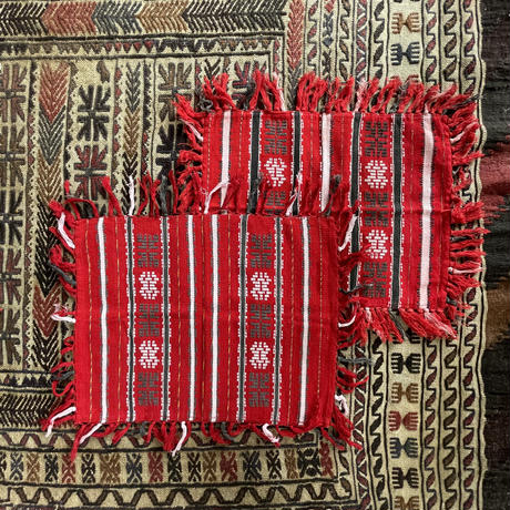 vintage red embroidery  smallrag