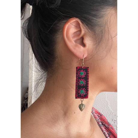 embroidery Heart pierce
