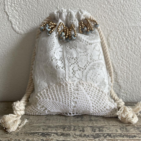 vintage lace small bag