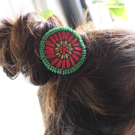 embroidery  Hair rubber