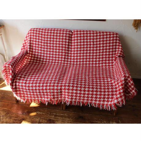 red&white knitrag