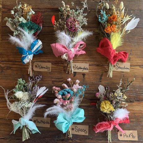 kotorii&hiddenplace fabric dry flower