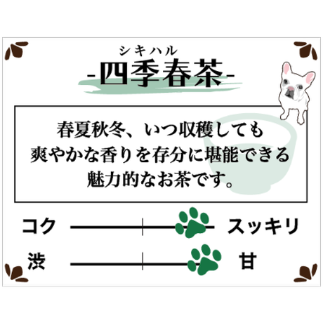 四季春茶 ティーバッグ【贈呈用】