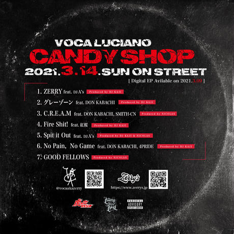 """EP""""CANDY SHOP/VOCA Luciano(CD)"""