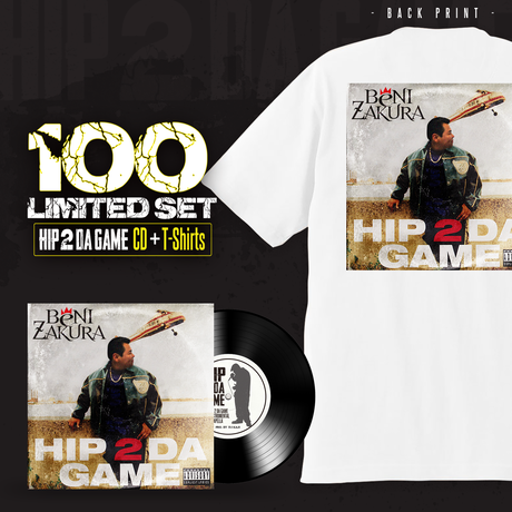 "HIP 2 DA GAME ""100 Limited CD&T-Shirts""set"