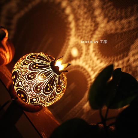 ひょうたんランプ---花の果実ー