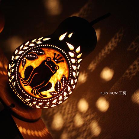 ひょうたんランプ---カエルの王様