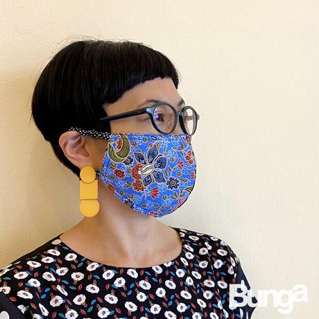 KTP-015【布マスク】バティックブルー