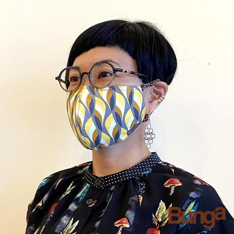 KTP-014【布マスク】イエローリーフ