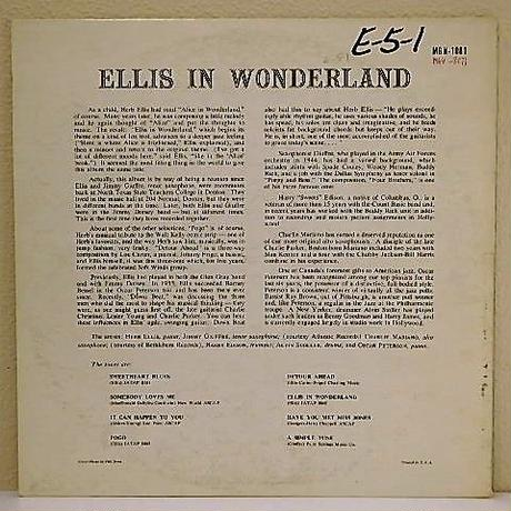 ELLIS IN  WONDERLAND  /  HERB ELLIS